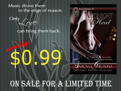 Midnight heat by Sarah Grimm 99cent Sale